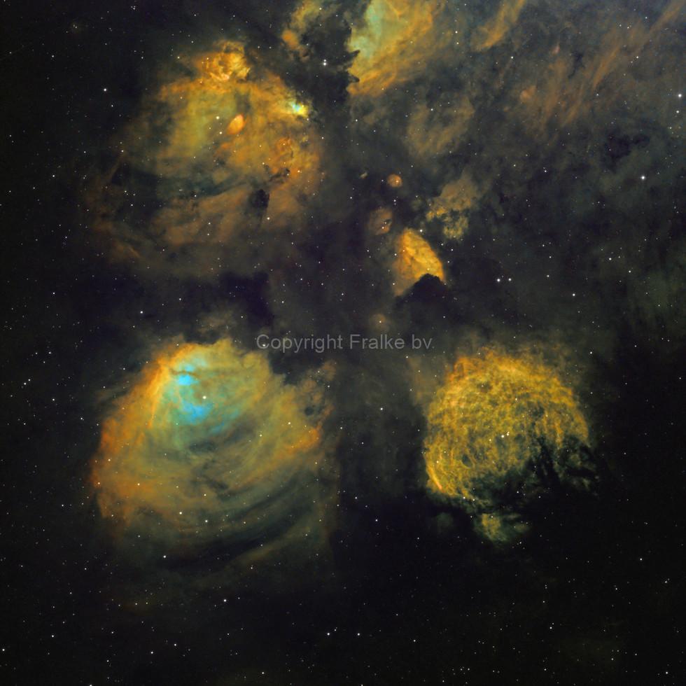 NGC6334 Cat's Pawn Nebula