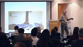 Xetal presenting at ReWork (2015)