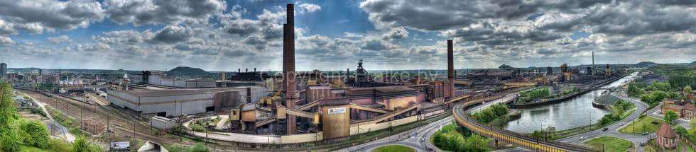 Industrial Complex, Charleroi, Belgium