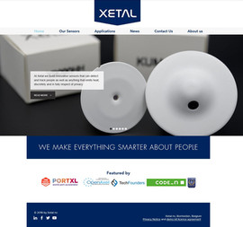 Xetal Website refresh