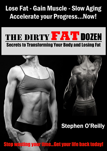 The Dirty FAT Dozen Book brings Fat Loss secrets to the fitness world