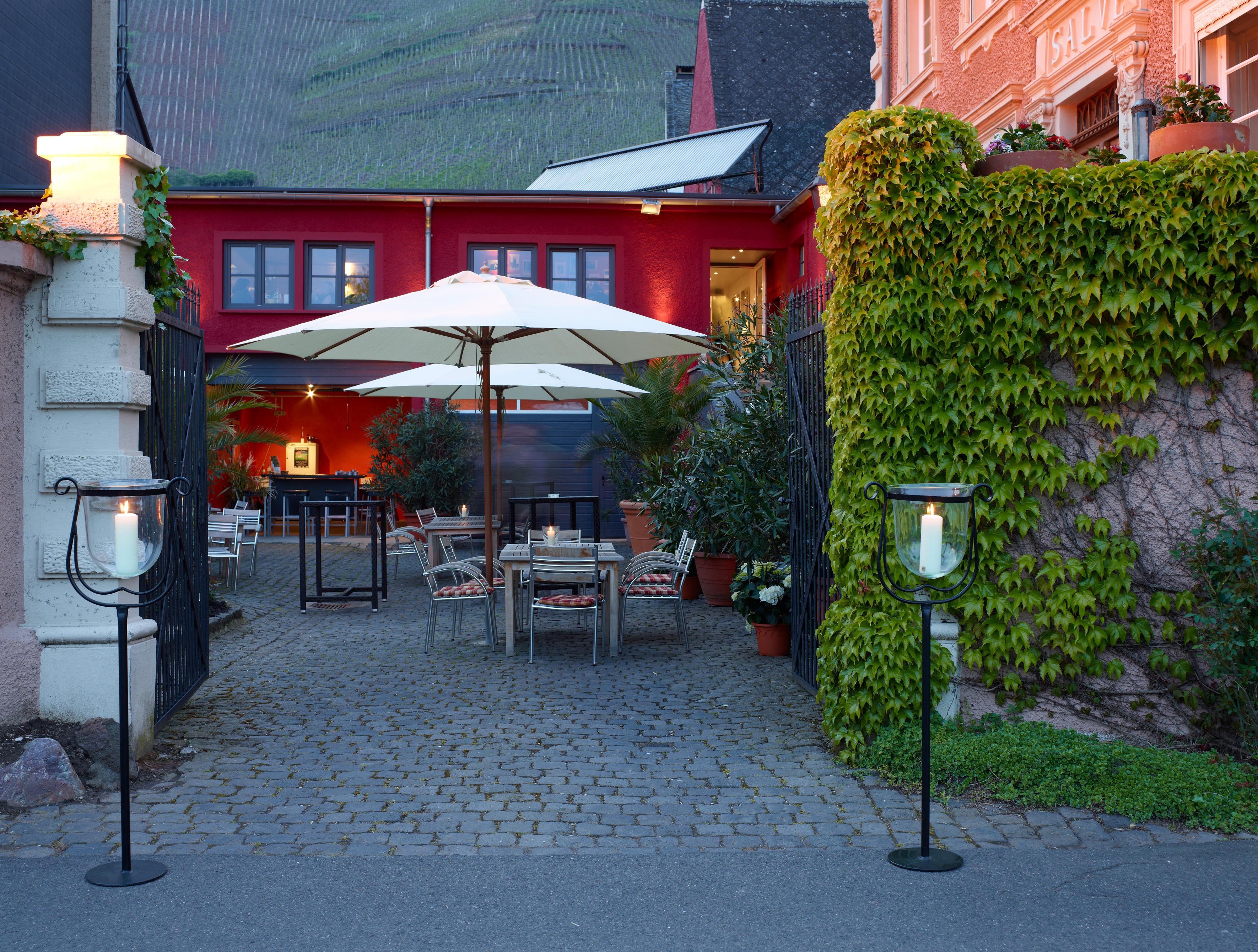 Romantischer Innenhof