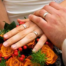Exklusives Ambiente für Ihre Hochzeit