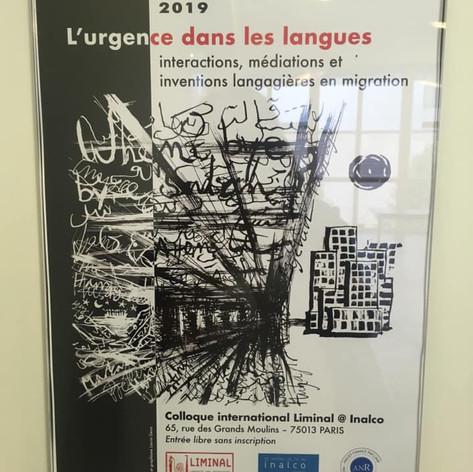 Colloque à l'Inalco: L'urgence des langues.