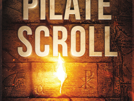 The Pilate Scroll Cover Reveal!!!