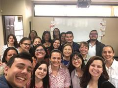 Foto Grupal con estudiantes I Diplomado.