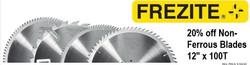 20% Off Frezite Non-Ferrous Blades-In-Store Promotion