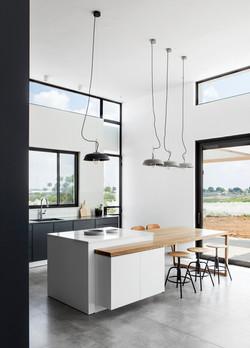 """תכנון ועיצוב בית פרטי במושב נווה מבטח 180 מ""""ר"""