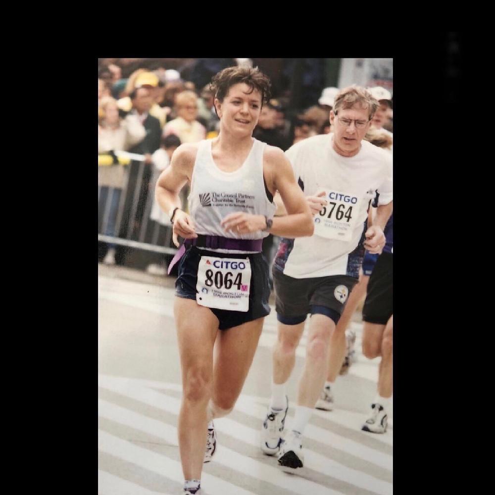Tanis Browning-Shelp Boston Marathon