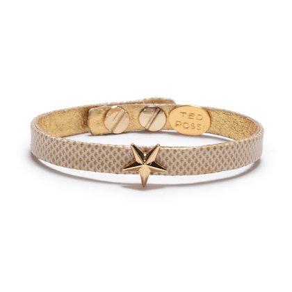 snakeskin star bracelet