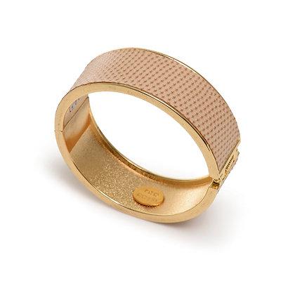 snakeskin hinge bracelet (med)