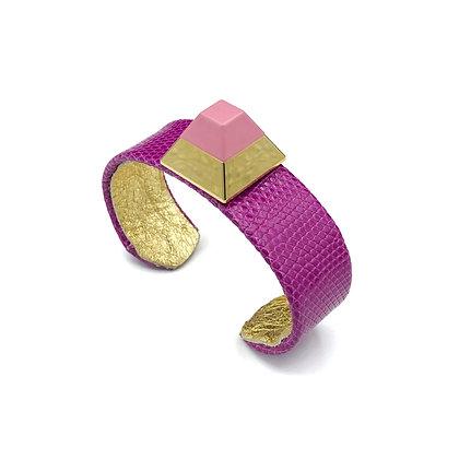 pyramid luxe mini cuff