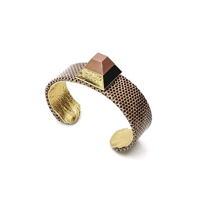 pyramid luxe mini cuff
