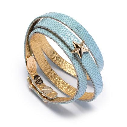 snakeskin star triple wrap