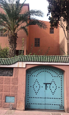the colors of marrakech