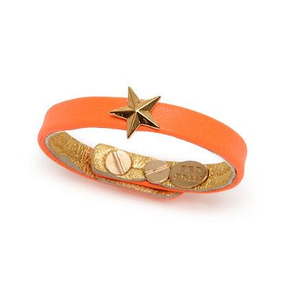 neon star bracelet