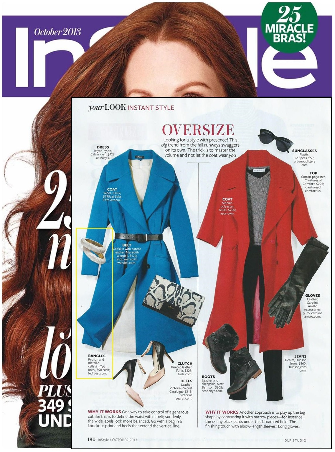 InStyle Magazine Oct13