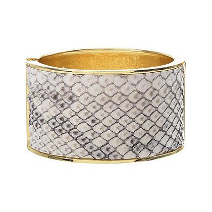 exotic oval hinge bracelet