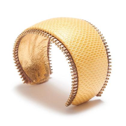 exotic zipper cuff (curve)