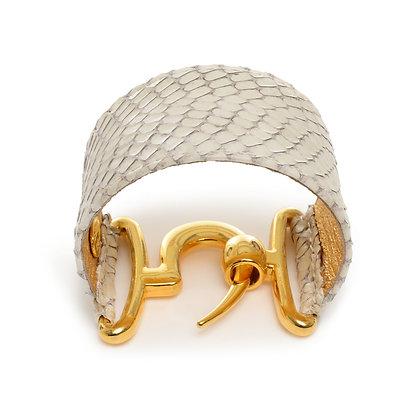 snakeskin talon cuff