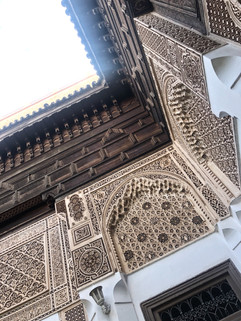 details at the bahia palace