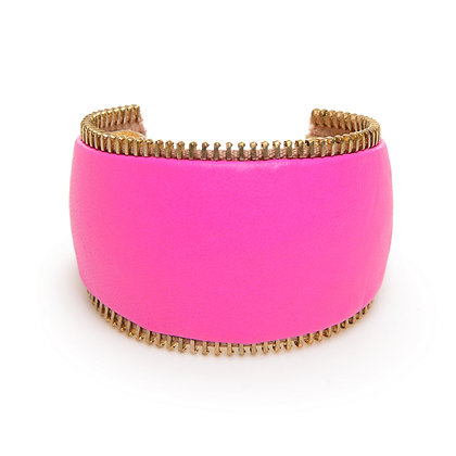 neon zipper cuff