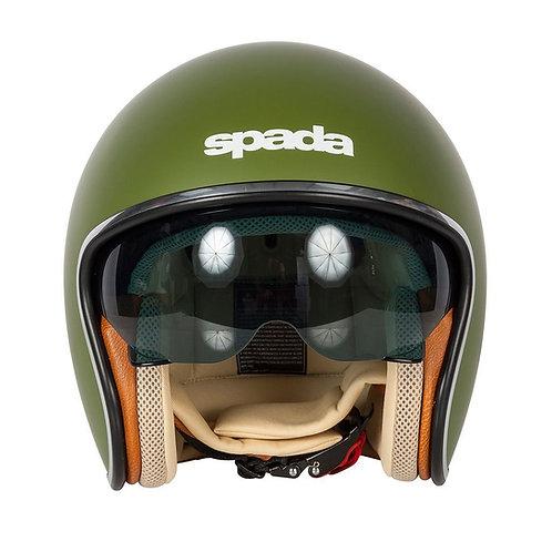 Spada Raze Openface Helmets Matt Green
