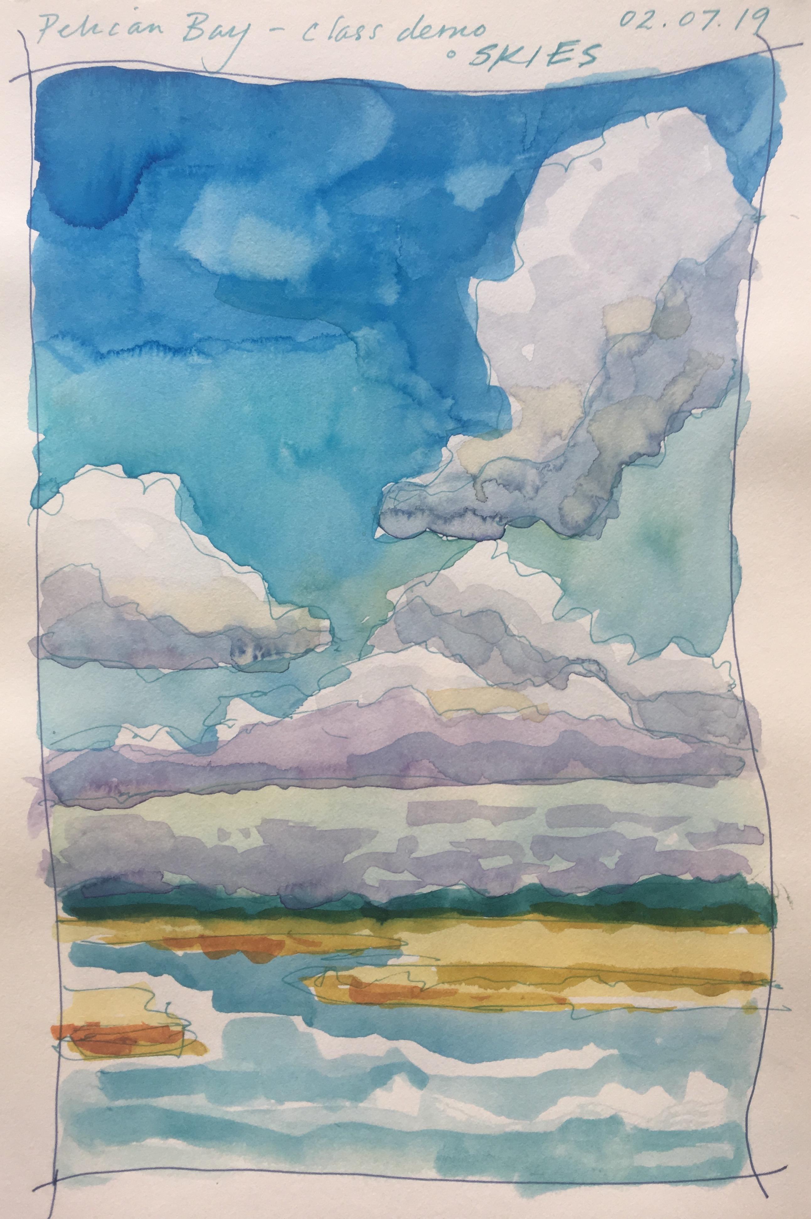 Sky/Cloud Study