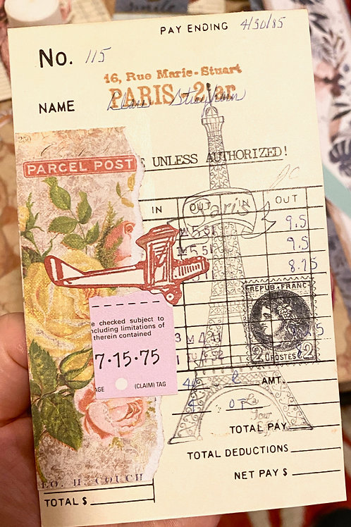 To Paris - Parcel Post