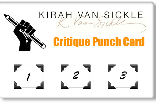 Critique Punch Card