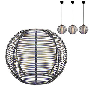"Suspension boule ""ZINGARO"""