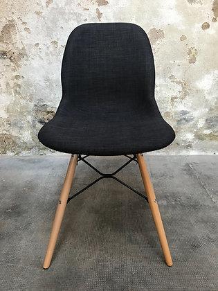 Chaise «SHELL» tissu