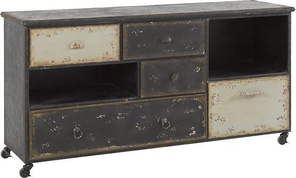 Meubles à tiroirs métal