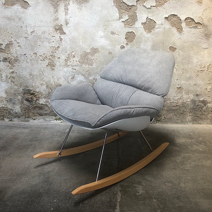 fauteuil rocky white label