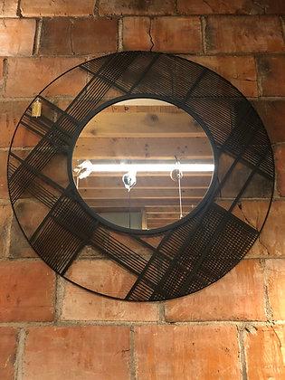miroir acier