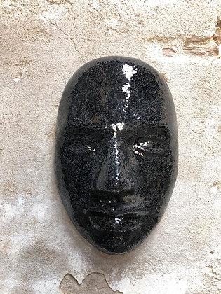 masque noir décoratif