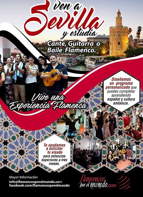 Ven a Sevilla flameco class