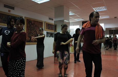 Pepe Torres flamenco class
