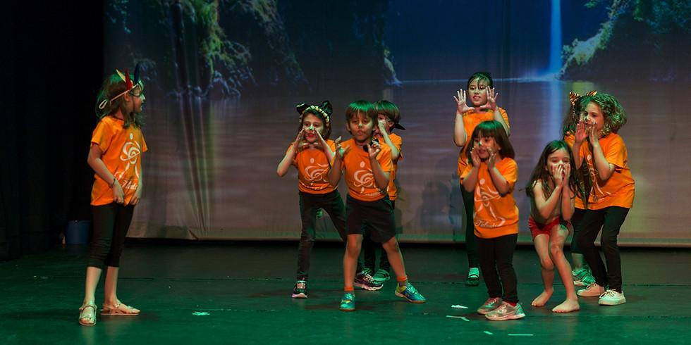 Introduccion al teatro musical de 5 a 8 años