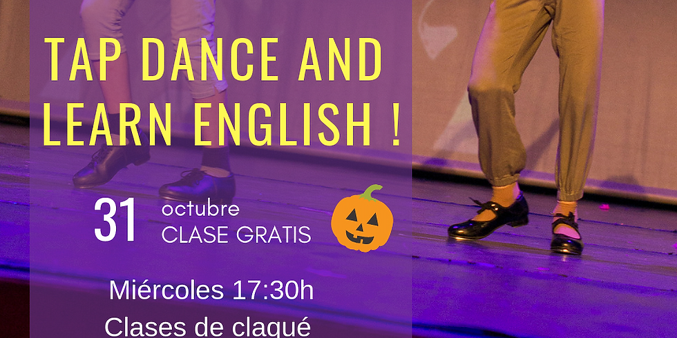 Tap dance and learn english