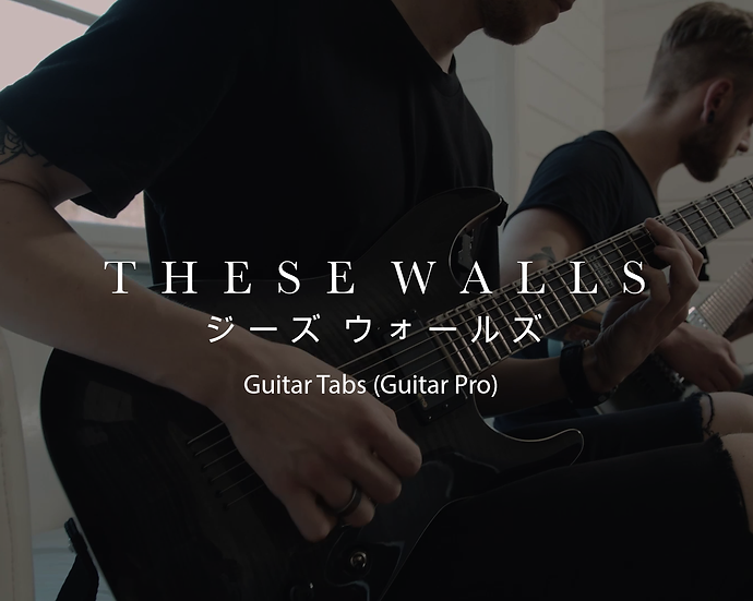 These Walls Guitar Tabs (.gp5)