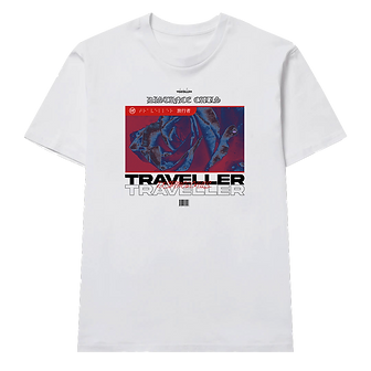 DISTANCE CALLS Shirt White
