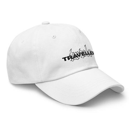 Embroided Dad Hat White