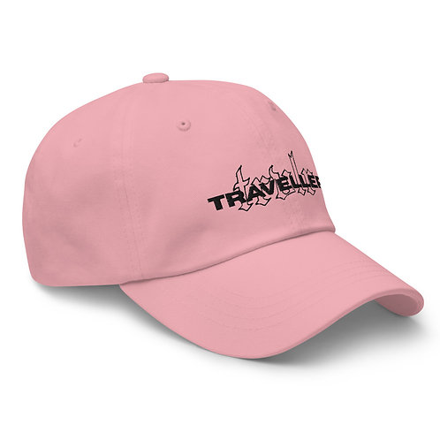 Embroided Dad Hat Pink