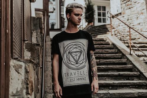 Geometric Shirt Black