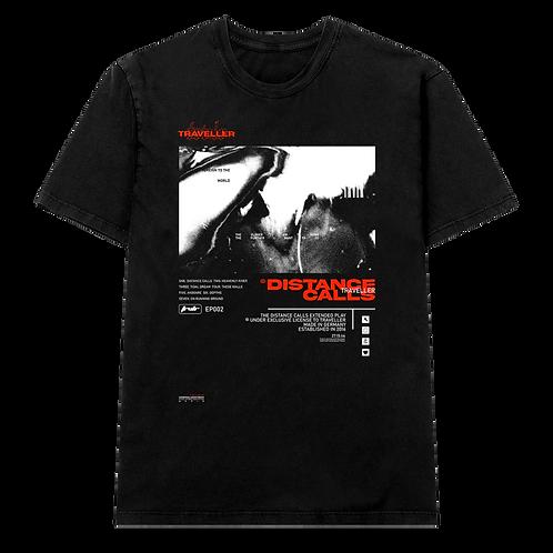 DISTANCE CALLS Shirt Black