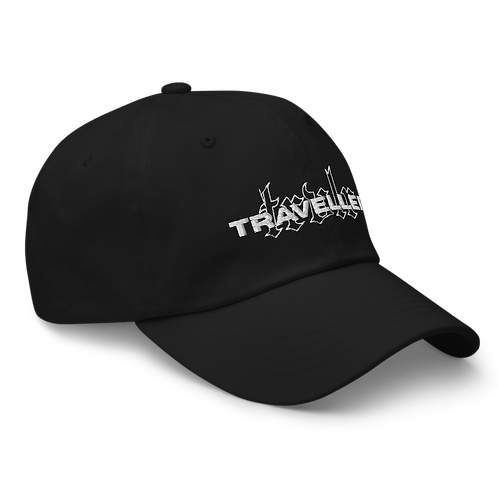 Embroided Dad Hat Black
