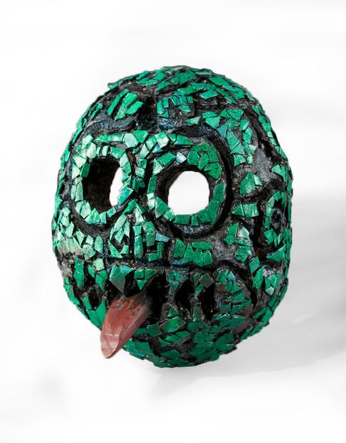 Aztec Death Mask