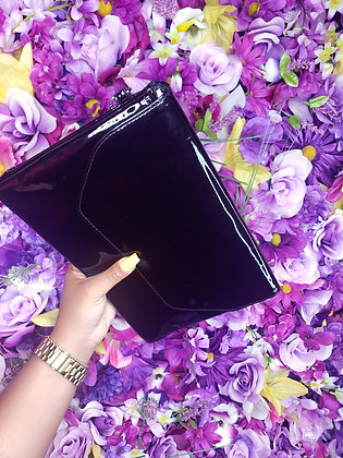 Patent My Leather Clutch