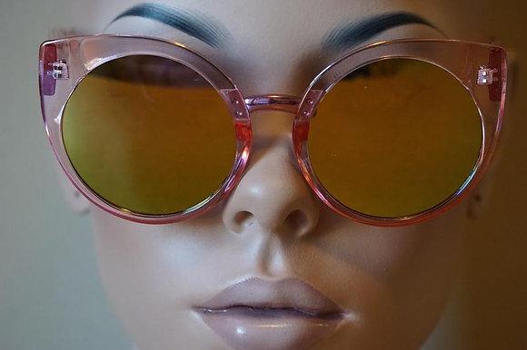 Cat Eye Mirror Me Sunglass